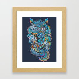 New Space Found Framed Art Print
