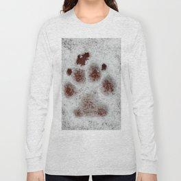Puppy print Long Sleeve T-shirt