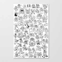 Super Smash Bruhs Canvas Print