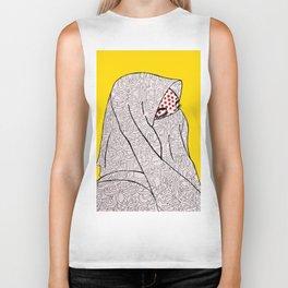 Roy Lichtenstein Meets the Arabic Woman Biker Tank