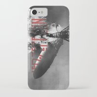 led zeppelin iPhone & iPod Cases featuring Zeppelin by Blaz Rojs