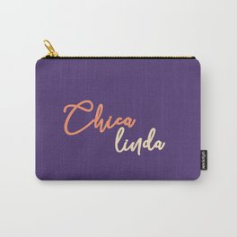Chica linda - spanish prints Art Print Carry-All Pouch