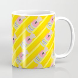 Pencil Pattern Coffee Mug