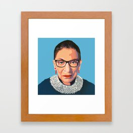 stone cold RBG Framed Art Print