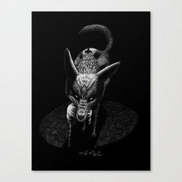 Egyptian Deities: Duamutef Canvas Print