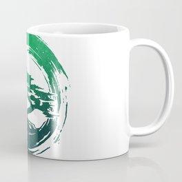 Green Bonsai in Enso Coffee Mug