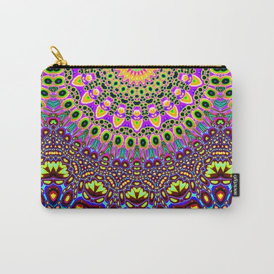 Vibrant Pop Art Pattern Carry-All Pouch