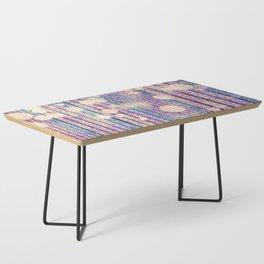 Glitter Pink Grunge Splatter Coffee Table