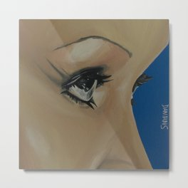 Aguilera eyes Metal Print