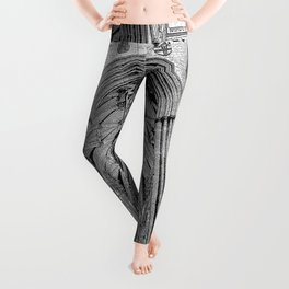 York Minster Art Sketch Leggings