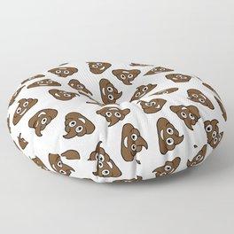 poo emoji Floor Pillow