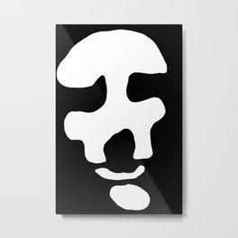 Chiaroscuro face Metal Print