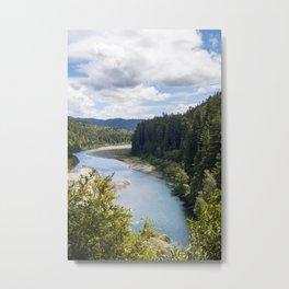 Eel River during summer Metal Print