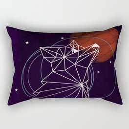 Fox in the Stars Rectangular Pillow