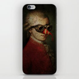 Surreal Steampunk Mozart iPhone Skin