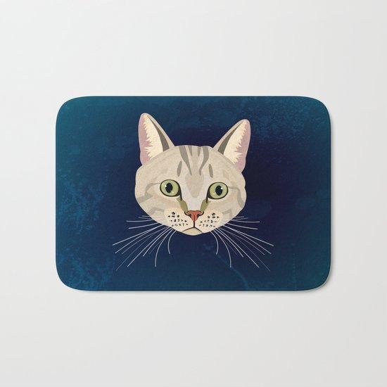 Tabby Cat Bath Mat