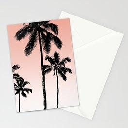 Sunset palms Stationery Cards