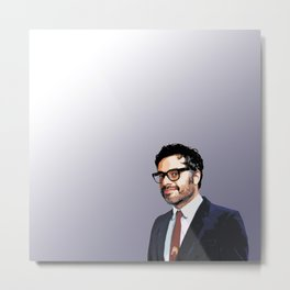 Jemaine Clement 10 Metal Print