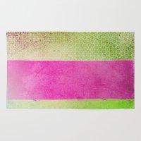 olivia joy Area & Throw Rugs featuring Color Joy by Olivia Joy StClaire