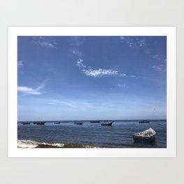 Isla Margarita Art Print