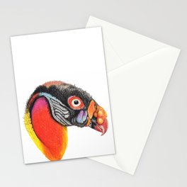 king vulture Stationery Cards
