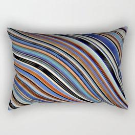 Wild Wavy Lines 03 Rectangular Pillow