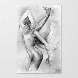 A Study in Movement Canvas Print