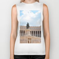 rome Biker Tanks featuring Rome by Anya Kubilus