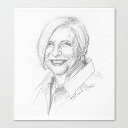 Nathalie Dupree Canvas Print