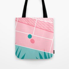 Jock - tennis sport retro neon throwback palm springs los angeles hollywood california sunny pop art Tote Bag