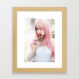 Dangerous woman Framed Art Print