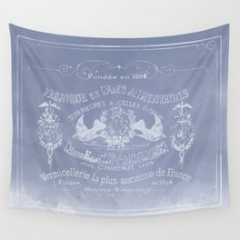 Light French Blue Wall Tapestry