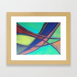 Fish Net Framed Art Print