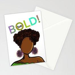 Be BOLD! Stationery Cards