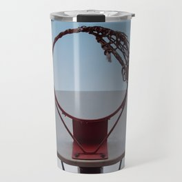 Shooting Hoops Travel Mug