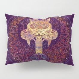 Owl Mandala Pillow Sham