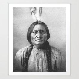 Sitting Bull, Dakota Chief Art Print