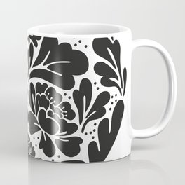 Black Heart Coffee Mug