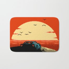 Ibiza Sunset Chillout Bath Mat