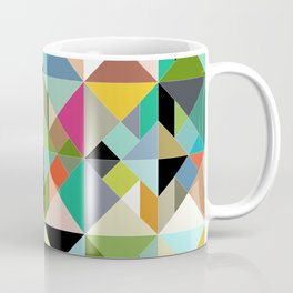 tangram geo multi Coffee Mug