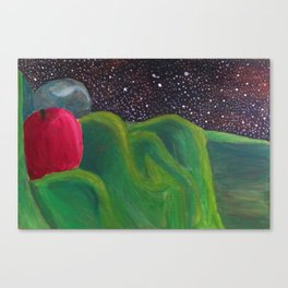 Galactic Date Canvas Print