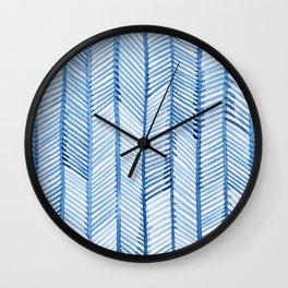 Blue Quills Wall Clock
