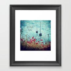 Let's Wander Together Framed Art Print