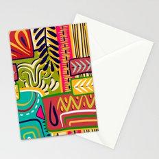 Geometric African Boho Pattern Stationery Cards