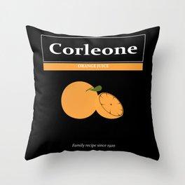 Family Recipe Throw Pillow