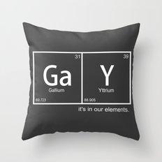 GaY Throw Pillow
