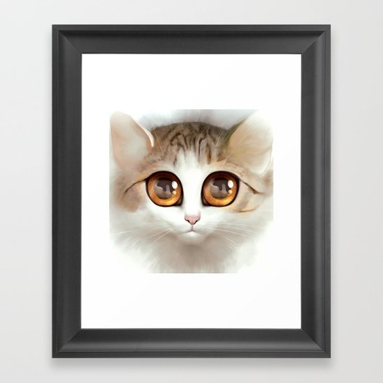 Kitten 2 Framed Art Print