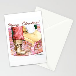 NUDEGRAFIA - 015 Merry Christmas Stationery Cards