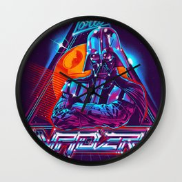Lord of the 80s Wall Clock