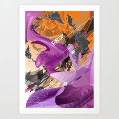 Sabor Latina Art Print